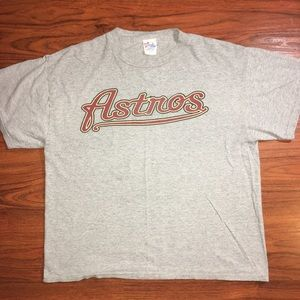 Vintage Houston Astros Grey Rogers Clemens T Shirt